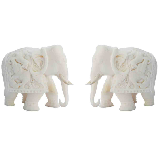 Fiber Combo Of Pure White Royal Elephant-EC-KKPMB5MY7