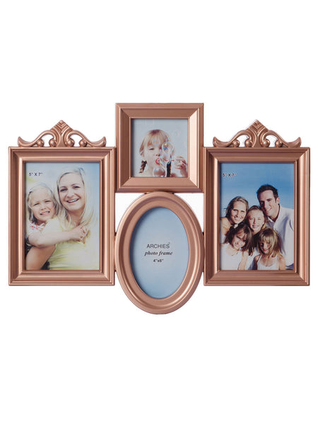 Family Collage Brownish Photo Frame for 4 photos - EC-HJRME24MA196