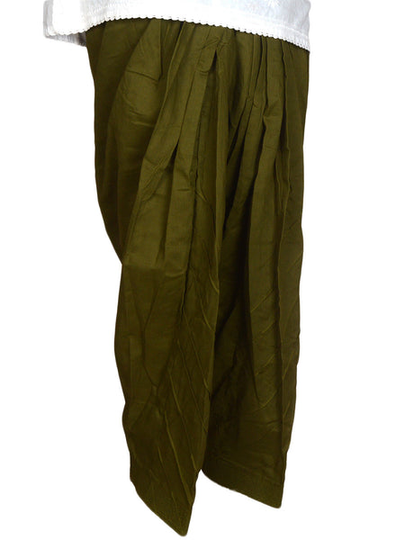 Patiala Salwar In Asparagus Green - CPPS12MH2