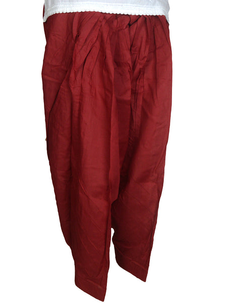 Patiala Salwar In Maroon-CPPS12MH5