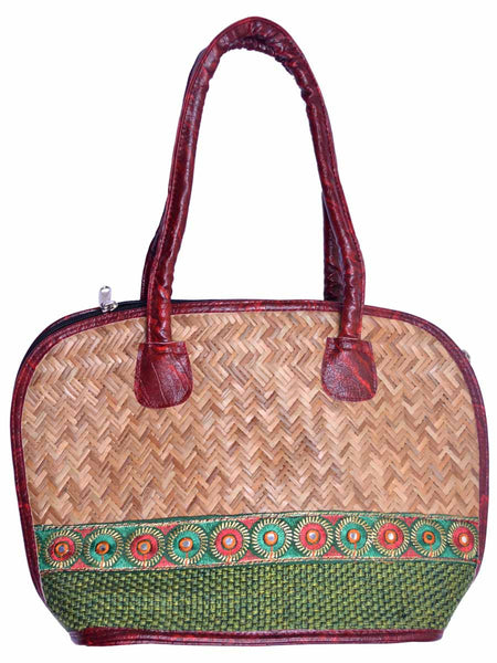 Cane Bag From Assam - CRUB11JL13