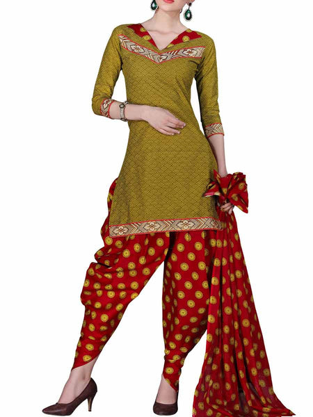 Cotton Suit From Kolkata In MultiColour - FPKWA16JN20