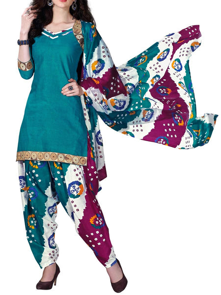 Cotton Suit From Kolkata In MultiColour - FPKWA16JN27