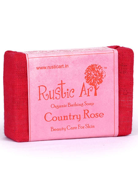 Organic  Country Rose Soap - RA-OP26AG19
