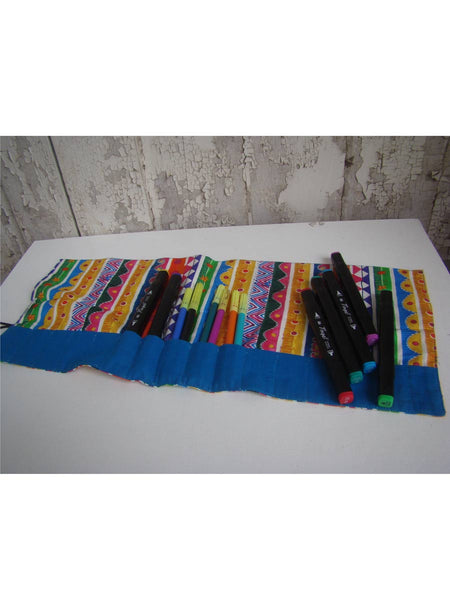 Digital Print On Fabric Crayon Pouch - AF-HDP26SP26