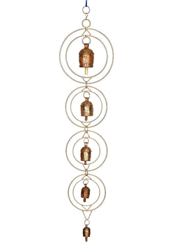 Copper Bells Wind Chime - UR-IHGDA7JN138