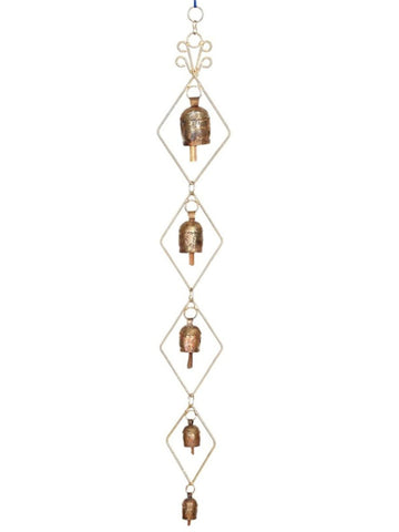 Copper Bells Wind Chime - UR-IHGDA7JN140