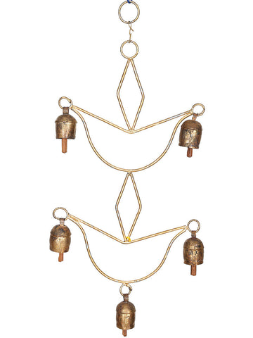 Copper Bells Wind Chime - UR-IHGDA7JN141