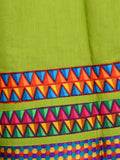 Divided Skirt From Jaipur In Lawn Green - DRKPS14AR6