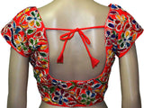Red kutch Embroidery Blouse - ND-PKGBN4ARL4