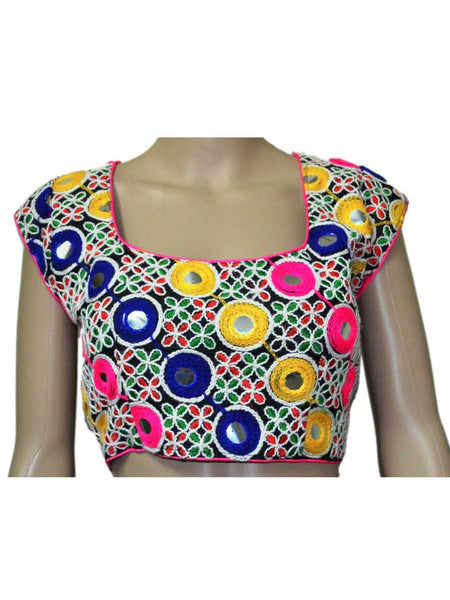 Multi Colour kutch Embroidery Blouse - ND-PKGBN20SP3
