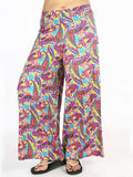 Rayon Palazzo Pants In Multicolour - AETPP20JL4