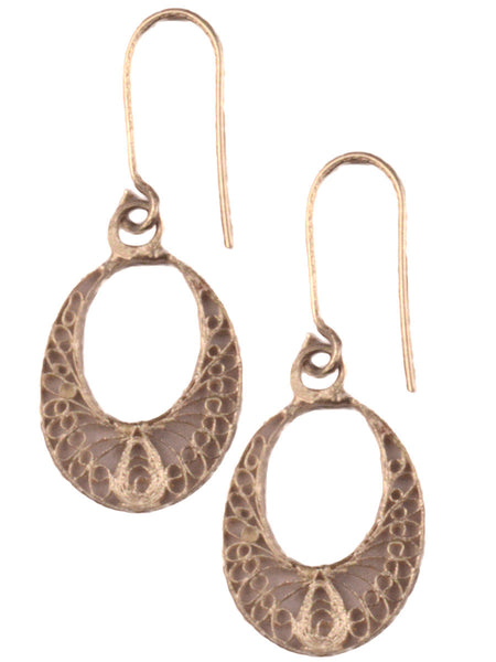 Filigree Orissa Dangle Earrings-CCOJE12FB4
