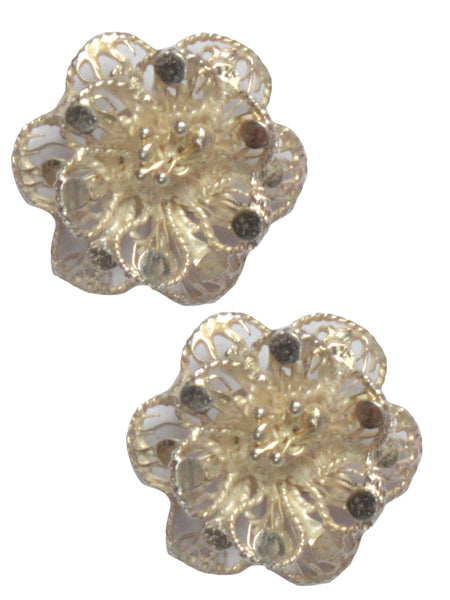 Filigree Orissa Flavour Earrings-CCOJE12FB6
