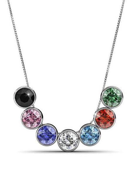 Everyday A Necklace Seven Set Multi Color - PH-CJN27AG11