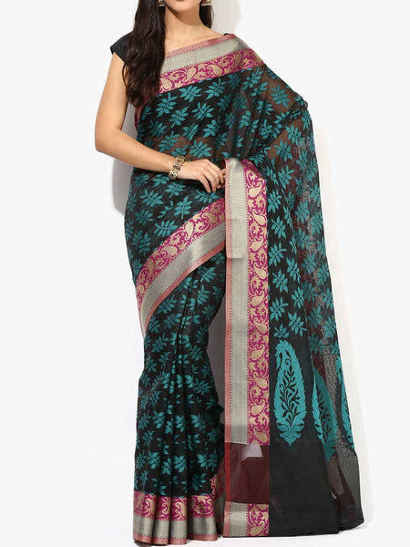 Banarasi Saree In Black - RB-BPBUSA11JL388