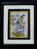 Marble Painting Of Ragini With Calf-EC-HJRME5MY38