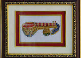 Marble Painting Of Vichitra Veena-EC-HJRME5MY23