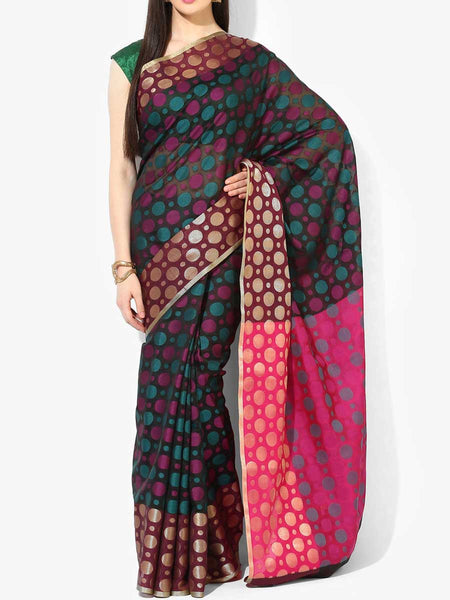 Banarasi Saree In Black - RB-BPBUSA11JL392
