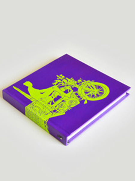 Chhakda Purple Note Book From Rajkot In Purple - SO-DKBS25AP6