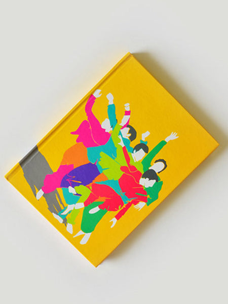 Garba Note Book From Rajkot In Multicoloured - SO-DKBS25AP21