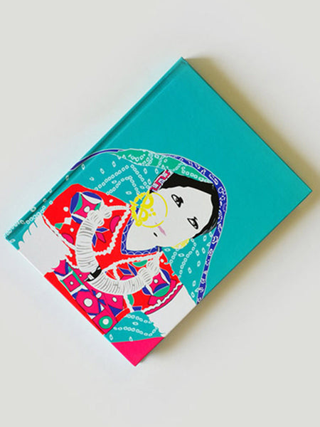 Adorn Blue Note Book From Rajkot In Blue - SO-DKBS25AP24