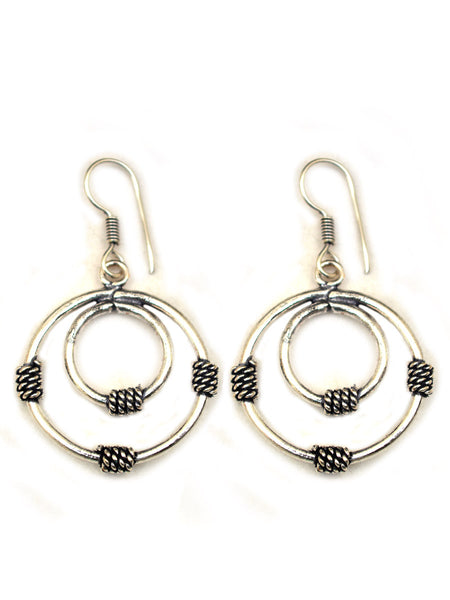 Earrings From Rajasthan In Silver - CJRE7OT9