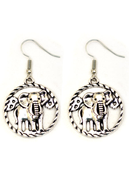 Earrings From Rajasthan In Silver - CJRE7OT21
