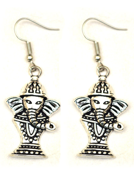 Earrings From Rajasthan In Silver - CJRE7OT3