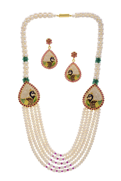 Pearls Brouch Set - CHTN25AG24