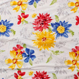 Colorful Flowers Single Bed Reversible Ac Comforter - EC-DDQ25MA86