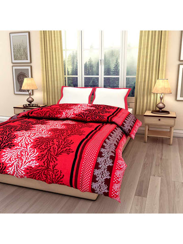 Abstract Pink Printed Single Bed Reversible Ac Comforter - EC-DDQ25MA234