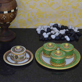 Marble Combo Of Decorative Dry Fruit Trays-EC-HJRME5MY66