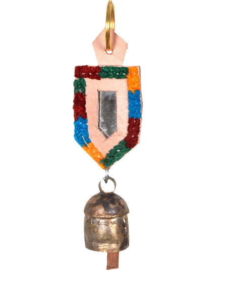 Copper Coated Iron Bell Key Chain from Gujarat - HKGB16MH4