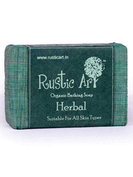 Organic Herbal Soap - RA-OP26AG25