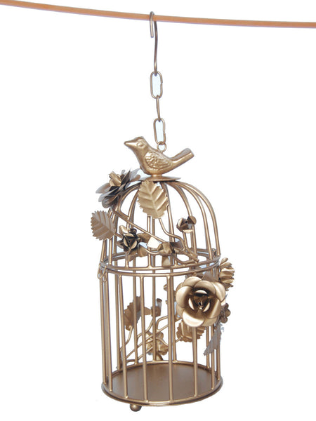 Bird Cage Planter From Moradabad - RJ-HDP31AG11