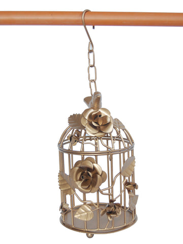 Bird Cage Planter From Moradabad - RJ-HDP31AG12