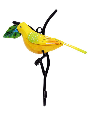 Bird On Stem Towel Hook - IKJTH15JL28
