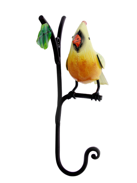 Bird On Stem Towel Hook - IKJTH15JL29