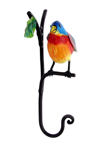 Bird On Stem Towel Hook - IKJTH15JL30