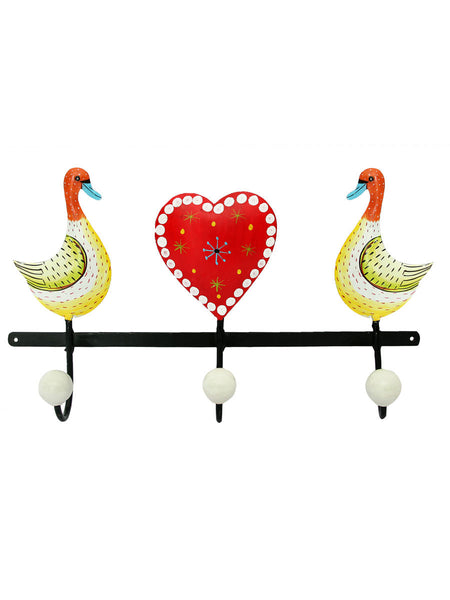 Duck With Heart Towel Hook - IKJTH15JL40