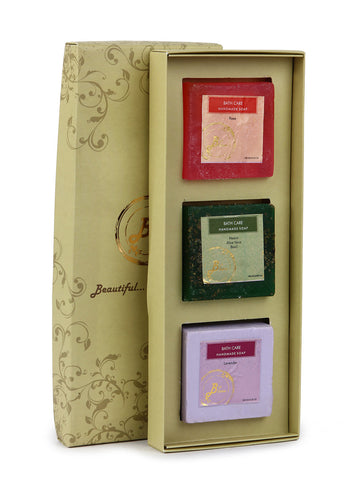 Gift Box - Set Of 3 Soaps - BB-GB26JL33