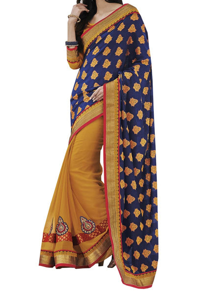Violet Colour Fancy Jacquard Traditional Designer Occation Wear Saree With Matching Blouse Piece From West Bengal - PWBSAI6MH10
