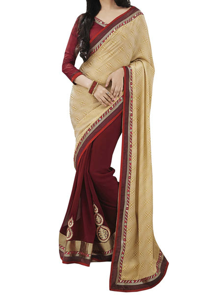 Light Yellow Colour Fancy Jacquard Traditional Designer Occation Wear Saree With Matching Blouse Piece From West Bengal - PWBSAI6MH14