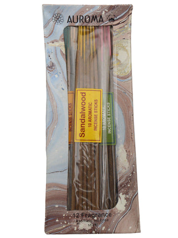 Set Of Twelve Incense Sticks From Pondicherry - PPIST24SP1