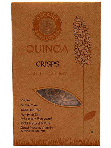 Quinoa Crisps Cinna-Honey - OF-QOF27SP4