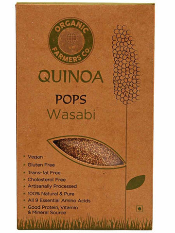 Quinoa Pops Wasabi - OF-QOF27SP2