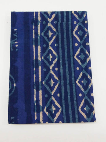 Cotton Block Print  Handmade Journal From Jaipur - CFMNB12JL9