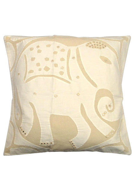 Cushion Cover With Applique Work From Gujarat - KAHAGC16JN13