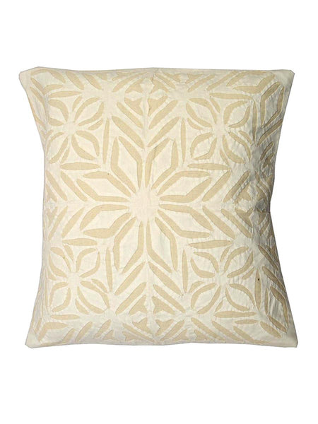 Cushion Cover With Applique Work From Gujarat - KAHAGC16JN8